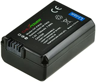 Chili Power NP-FW50 Batterie pour Sony Alpha 7, A7, Alpha 7R a7R, Alpha A3000, A5000, A6000, NEX-3, NEX-5, NEX-5R/5T, NEX-...