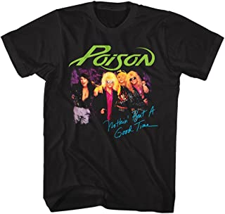 Poison - Nothin' But A Good Time - Adult T-Shirt