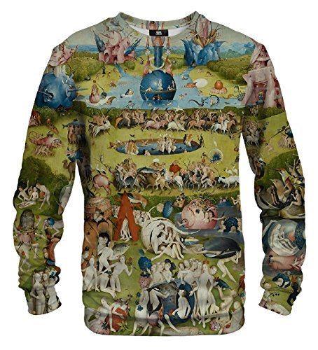 Mr. Gugu & Miss Go Herren Damen Bedrucktes Sweatshirt Garden (XL)