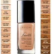 Avon True Color Flawless Invisible Coverage Liquid Foundation SPF 15 Rich Espresso