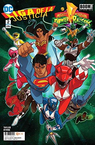 Liga de la Justicia/Power Rangers 2 (Liga de la Justicia/Power Rangers núm. 02)