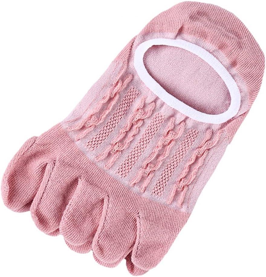 KerDejar Women Summer NEW Ranking TOP3 Low Cut Five Fingers Boat Toe Socks Jacqua