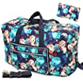 Travel Duffel Bag Foldable Floral Large Travel Bag Weekend…