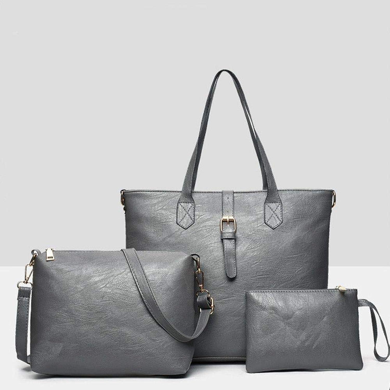ZLULU Damen-Schultertaschen Damenhandtaschen Dreiteilige Einzelschulterhandtasche Mit Mit Mit Großer Kapazität B07L2LC68M  Schnäppchen 8570c9