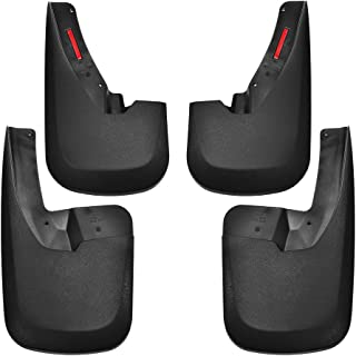 Tecoom Mud Flaps Splash Guards Front and Rear 4 Pack ABS Molded for 09-18 Ram 1500 10-18 Ram 2500 3500 with OEM Fender Flares
