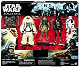 Star Wars Rogue One Exclusive Action Figure 4 Pack Includes: Rebel Commando Pao, Moroff, Imperial Death Trooper and Imperial Stormtrooper