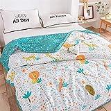 HOUMEL - Edredón de 1,5 tog, lavable, microfibra Quilt antiácaros, poliéster ligero, cama de accesorios para sofá cama Throw Blanket 014, e, tamaño King