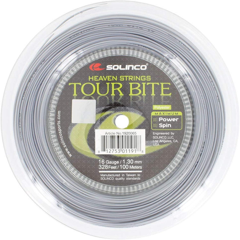 SolincoTour Bite Tennis String Mini Reel Silver()