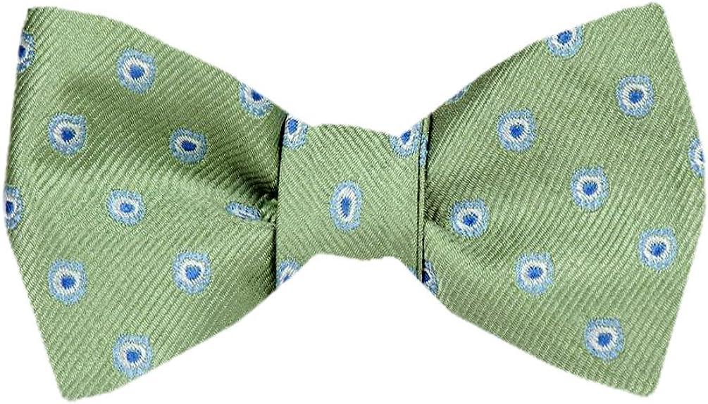 FBTZ-1545 - Men's Silk Self Tie Bowtie Tie Yourself Bow Ties