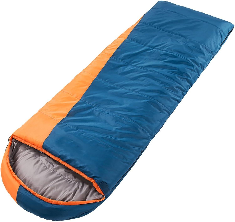 ZML Single Schlafsack, Warm, Leicht, Tragbar, Outdoor Camping (Farbe   BlauOrange) B07FJR5YK4  In hohem Grade geschätzt und weit Grünrautes herein und heraus