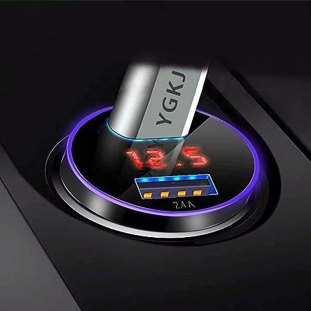 Baseus Auto Ladegerät Digitalanzeige Qc Pps Dual Elektronik
