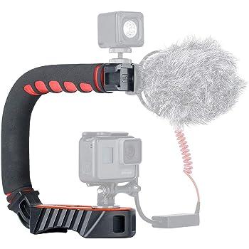 Pentax Optio E85 Vertical Shoe Mount Stabilizer Handle Pro Video Stabilizing Handle Grip for
