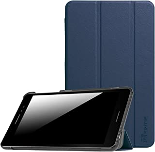 Fintie AT&T Trek 2 HD Case - Slim Lightweight Slim Cover with Auto Wake / Sleep Feature for AT&T Trek 2 HD 6461A / ZTE Trek 2 HD K88 8-inch 4G LTE Android Tablet, Navy