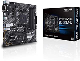 ASUS AMD B550 搭載 AM4 対応 マザーボード PRIME B550M-K 【MicroATX】