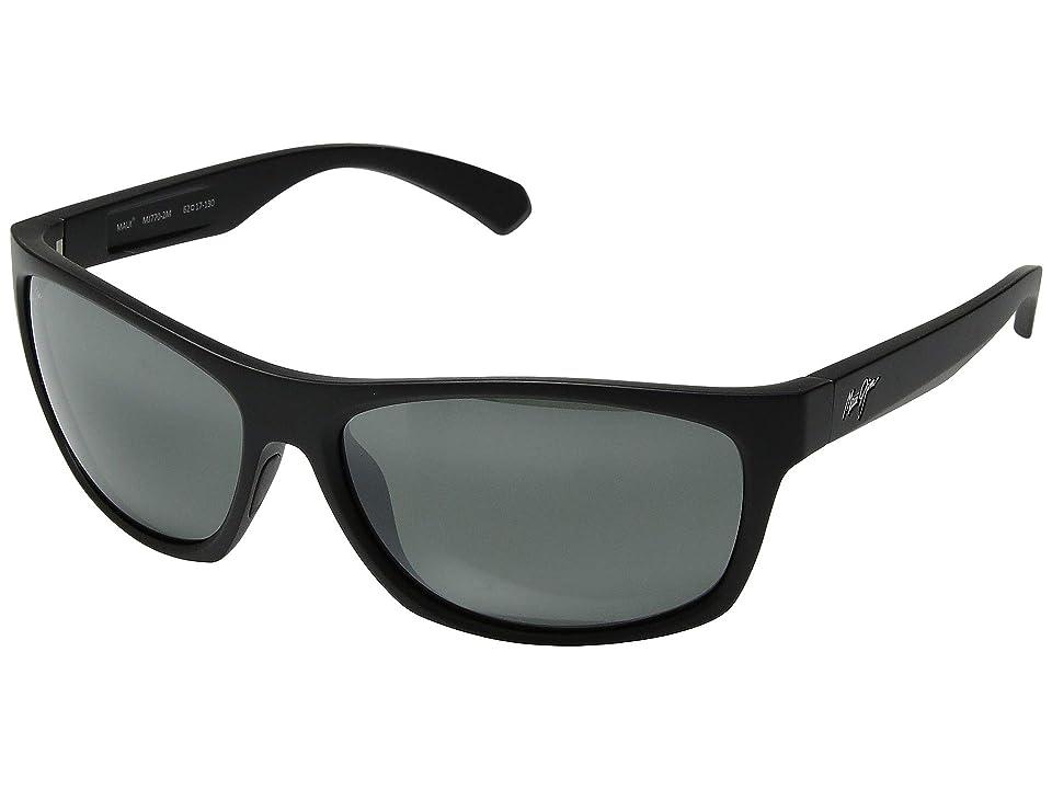 Maui Jim Tumbleland (Matte Black/Neutral Grey) Sport Sunglasses