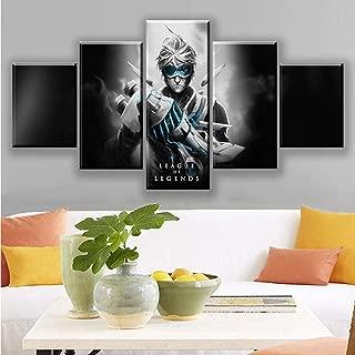 NIKHILA AMASH Canvas Wall Art 5 Piece - Canvas Prints Esport Hero for Home Decoration Artworks Wall Decor