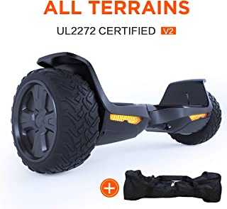 TOMOLOO Hoverboards, UL2272 Certificated Hover Boards for Kids & Adults, Self Balancing Scooter W/Bluetooth and Speaker