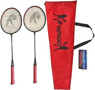 Hipkoo Cherry (2 Rackets & 3 Shuttlecocks) Badminton Kit