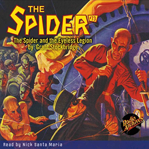 The Spider #73 audiobook cover art