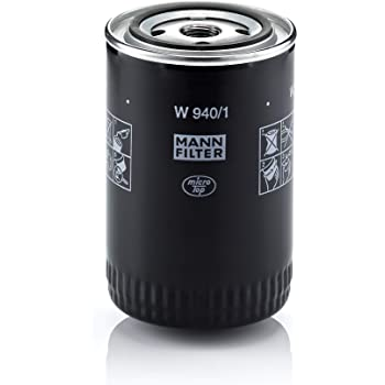 Hydraulic filter suitable for automatic transmissions for Cars and Utility Vehicles MANN-FILTER W 940//1 Oil Filter