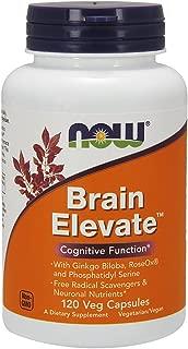 Now Supplements, Brain Elevate, Featuring Ginkgo Biloba, RoseOx and Phosphatidyl Serine, 120 Veg Capsules
