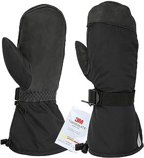 Winter Gloves Ski Mittens 3M Thinsulate Thermal Snow Work Glove for Men/Women