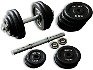 IROTEC(アイロテック) アイアン ダンベル 60KGセット (片手30kg×2個) 筋トレ ベンチプレス 筋力