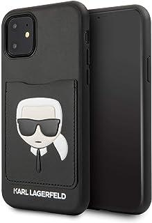 Karl Lagerfeld KLHCN61CSKCBK CardSlot Cover for iPhone 11 Black