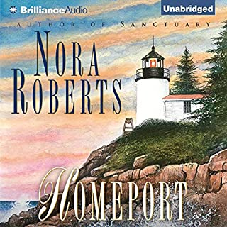Homeport                   By:                                                                                                                                 Nora Roberts                               Narrated by:                                                                                                                                 Erika Leigh                      Length: 15 hrs and 28 mins     908 ratings     Overall 4.3