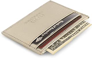 Genuine Leather Wallet - Bank Cards, Money, Driver's License, RFID Blocking - Unisex