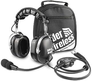 Flugzeug Headsets für Piloten mit Dual Stecker Kabel