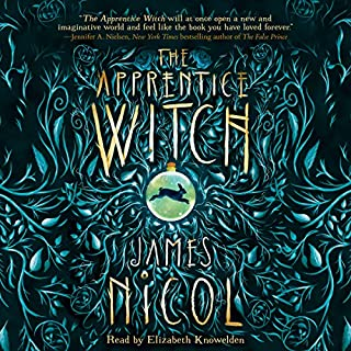The Apprentice Witch audiobook cover art