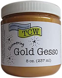 Crafter's Workshop Gesso 8oz-gold