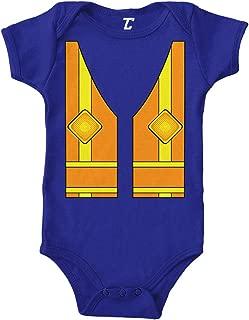 Construction Worker Vest - Costume Cute Bodysuit