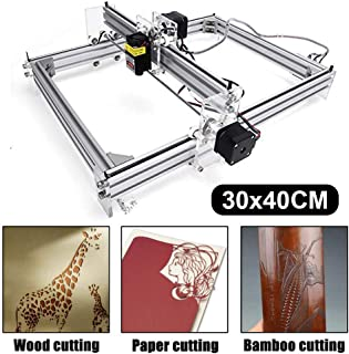 Craftsman 500mw Laser Engraving Machine, 40x30cm CNC Router 12V USB Laser Engraver Desktop CNC DIY Picture Making Printer (500mw)