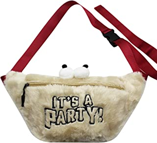 Amamcy Women Cartoon Waist Pack Bag Pocket Fanny Pack Crossbody Belt Shoulder Bags for Traveling Casual Running