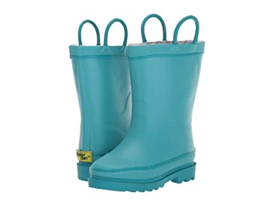 Western Chief Kids Winterchief Rain Boot (Toddler/Little Kid/Big Kid) (Teal) Kids Shoes