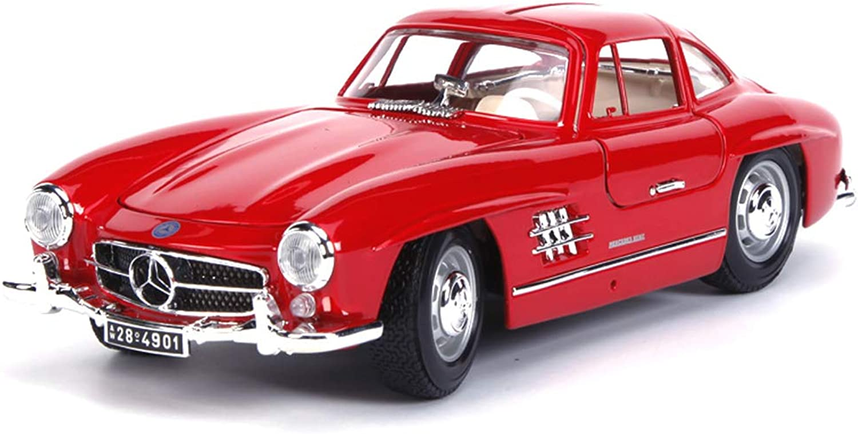 GAOQUN-TOY 1954 Mercedes 300SL-Simulationslegierungsmodell 1 18 (Farbe   rot, gre   25cm9.5cm7.5cm)