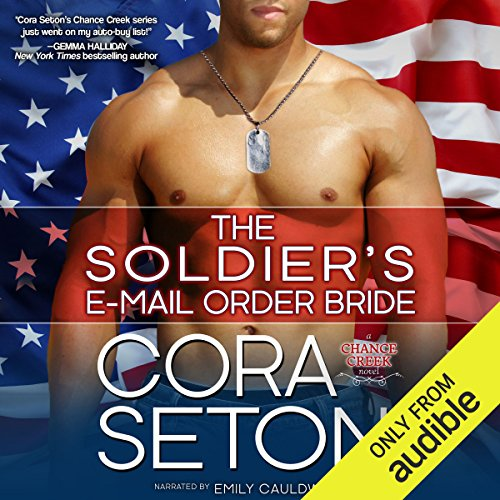 The Soldier's E-Mail Order Bride audiobook cover art