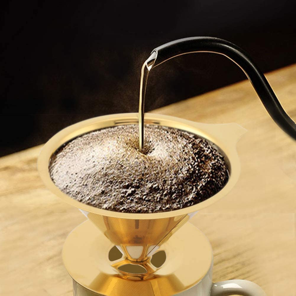 Okuyonic Coffee Dripper with Stand B Great interest Cup Large special price Filter