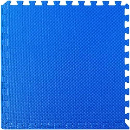 el mas de moda WAHOUM Alfombra Puzle Puzzles De Suelo PE A A A Prueba De Humedad Bebé Gateando Más Grueso Libertad De Empalme Dormitorio, 11 Colors (Color   azul, Talla   4pcs-60X60X2.5CM)  servicio honesto