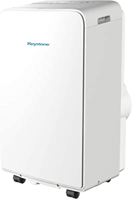 Keystone KSTAP13MAC 115V Portable Air Conditioner, White