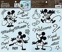 ディズニーウォールデコステッカーA5サイズ×2柄ミッキーマウスMickeyMouseDWS9