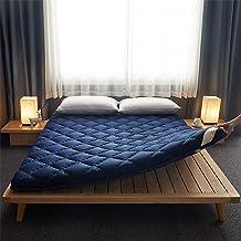 Japanese Tatami Floor Mat,Floor Mattress Futon Mattress,Tatami Floor Mat Kids Sleeping Pad,Roll Up Knitted Cotton Futon Ma...