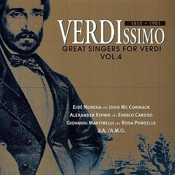 Great Singers for Verdi (Vol.4)