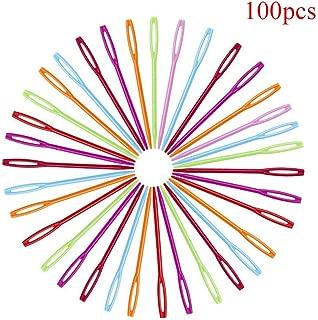 MOPOLIS Durable 7cm Plastic Knitting Needles Crochet Hooks Tapestry Wool Yarn Needles G$ | PATTERN - P100