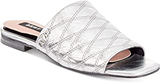 DKNY Womens Roy Leather Open Toe Mules US