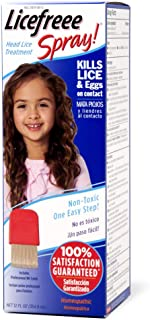 Licefreee Spray Head Lice Spray- Super Lice Treatment for Kids and Adults- Kills lice