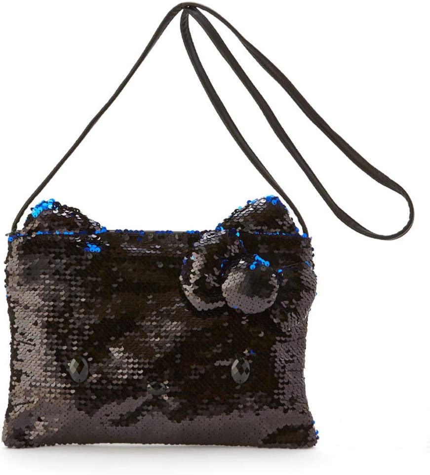 Kitty Hello Excellent Black OFFicial shop Shoulder Bag Satin