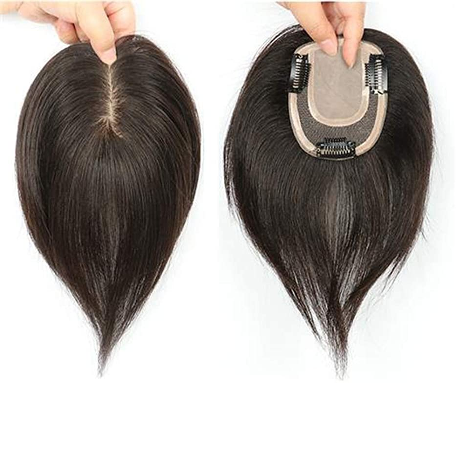 直径驚くばかりモードリンBOBIDYEE 自然なロングストレートヘアフルハンドウィッグリアルヘアウィッグ女性のための人工毛レースのかつらロールプレイングウィッグロングとショートの女性自然 (色 : Natural color, サイズ : 20cm)